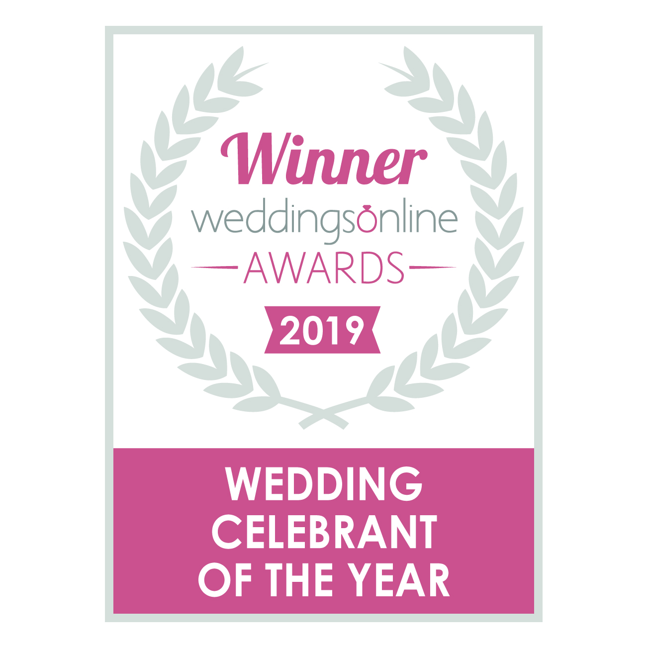 Spiritual Ceremonies - Wedding Celebrant of the Year copy