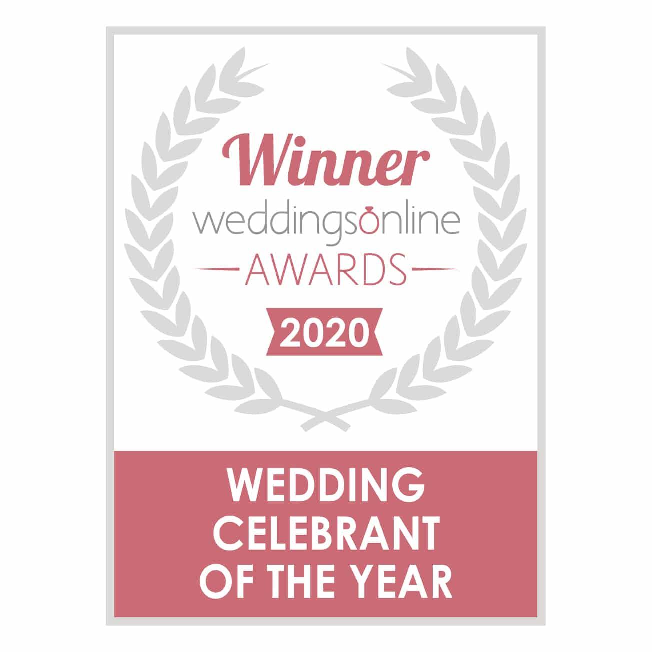 Spiritual Ceremonies - Wedding Celebrant of the Year