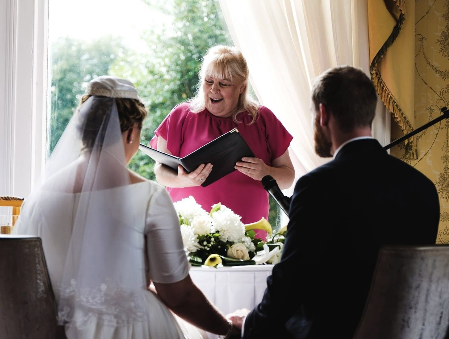 siobhan and barry spiritual ceremonies wedding testimonials
