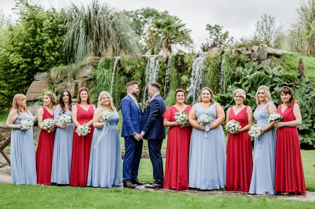 Wedding Stories Reviews Ballymagarvey Village Co Meath Manor house weddings ireland