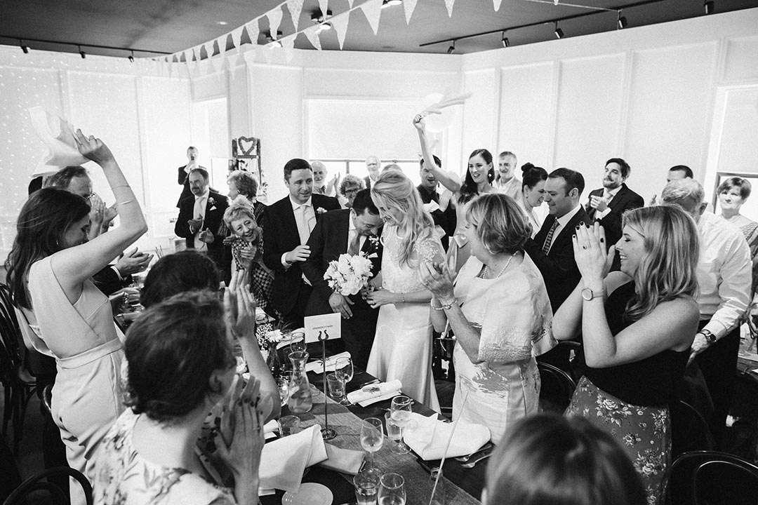 micro weddings ireland best venues haddington house OAK ROOM CROWD