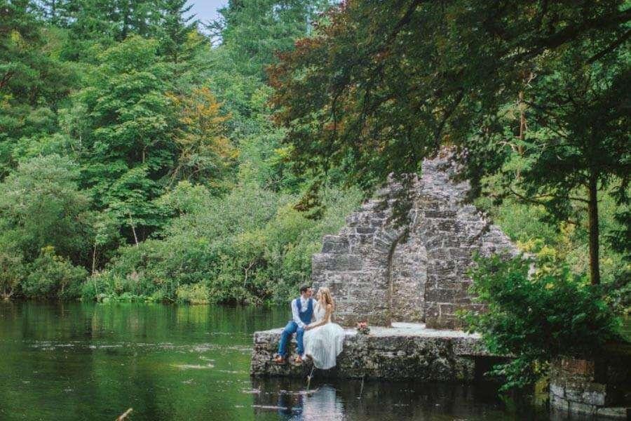 unique small micro weddings ireland venues The Lodge at Ashford Castle
